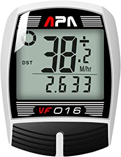 DREAM SPORT Cycle Computer Wired, Accurate Speedometer Bike Trip Distance Timer, Waterproof Durable Bicycle Computer