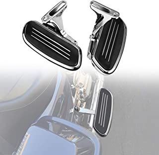 Passenger Floorboards Mount Bracket Kits for Road King Street Glide Road Glide Electra Glide Touring 1993-2019 Floor Boards Chrome