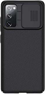 Samsung Galaxy S20 FE 2020 Case Cover Original Nillkin CamShield for Samsung Galaxy S20 FE 2020 (Fan edition 2020) (Black)