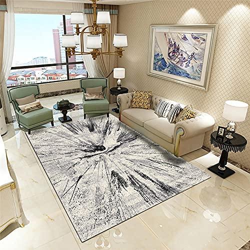 Kunsen alfombras de habitacion Juvenil la Alfombra Cristal DE Cristal DE Cristal DE Cristal DE Cristal DE Cristal DE Decoración sin Pelo Camas Modernas 160x200cm 5ft 3' X6ft 6.7'