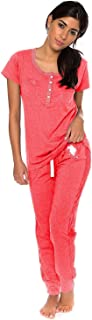 U.S. Polo Assn. Womens Short Sleeve Shirt and Long Pajama...