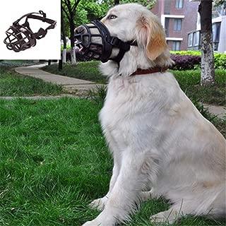 TREA2SURE 3 Unidades, desechable, multifunci/ón, antimordeduras, antiladridos Mascarilla para Perro