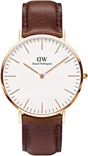 Daniel Wellington Casual Watch Analog Display Japanese Quartz for Men DW00100009