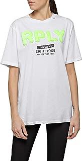 Replay Women's Oversized Rply T-Shirt