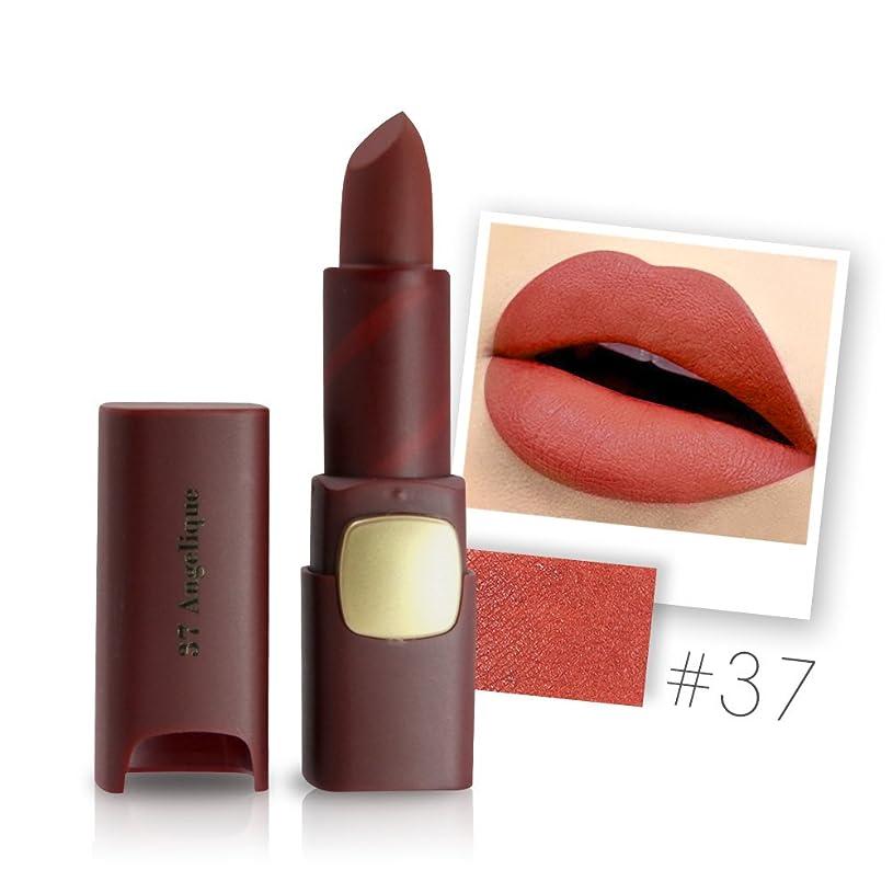 役立つ件名花Miss Rose Brand Matte Lipstick Waterproof Lips Moisturizing Easy To Wear Makeup Lip Sticks Gloss Lipsticks Cosmetic