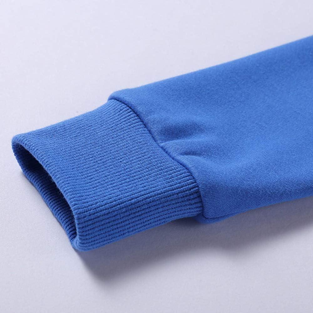 TRGCJGH Sweatshirt Sweats à Capuche pour Hommes Sweats à Manches Longues,Gray-XL Orange-m