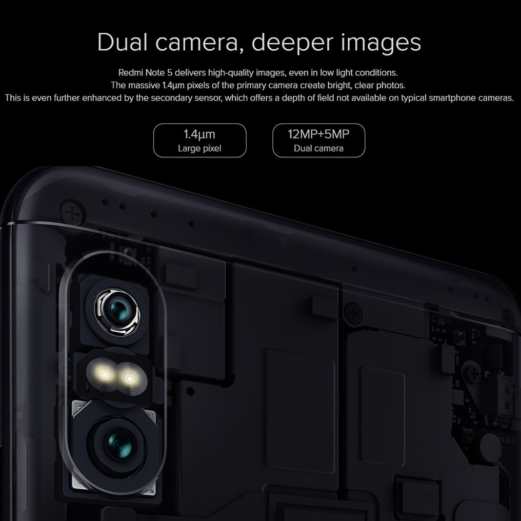 Xiaomi Redmi Note 5 Smartphone de 4GB / 64GB Doble SIM: Amazon.es ...