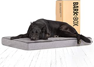 BarkBox Memory Foam Platform Dog Bed | Plush Mattress for Orthopedic Joint Relief |..