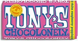 Tony's Chocolonely White Chocolate Raspberry Popping Candy, 180 gm