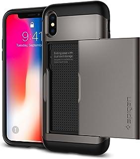 Spigen Slim Armor CS Designed for Apple iPhone Xs Case (2018) / Designed for Apple iPhone X Case (2017) - Gunmetal