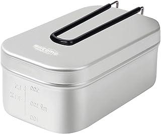MiliCamp メスティン 飯盒 MR-250 Pro メモリ付き 吹きこぼれ抑止溝付き アウトドア 調理器具 ハンゴウ キャンプ飯 2合 登山 バーベキュー ツーリング