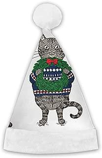 JQTGPNZLZHFA 13 Christmas Cats Christmas Hats Adults, Men, Women, Kids, Old Decorations, Christmas Headdress Hats