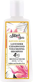 Mirah Belle - Lavender, Cedarwood - Volumizing Shampoo - Vegan and Cruelty Free - Sulfate and Paraben Free - 200 ml