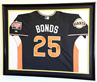 XL Double Matted Custom Framed Jersey Display Case Frame w/98% UV Protection