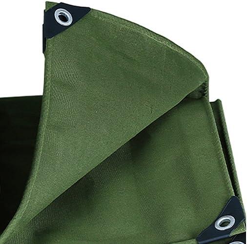 Bache Toile Verte de baches de Toile Prougeection Solaire imperméable puissante utilisée dans la Famille de Camping de Poncho extérieur de Jardin, épaisseur 0.7mm, 550g   m2, 13 Options de Taille