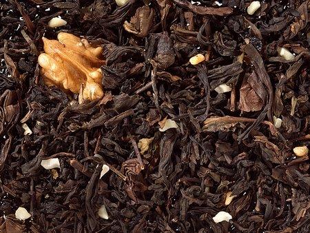 Halbfermentierter Tee Oolong Maple Walnut, Ahorn-Note aromatisiert