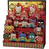 サンリオ(SANRIO) ひな祭りカード キャラクターミックスひな壇飾り JHN14-1 S 2614