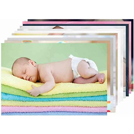 Paper Plane Design New Born Baby Girl/Boy Poster for Wall Pregnant Women Cute Large Posters in Room Bedroom with Big Size Matt Finish, Size - 12 x 18 Inch, Set of 10 Photo