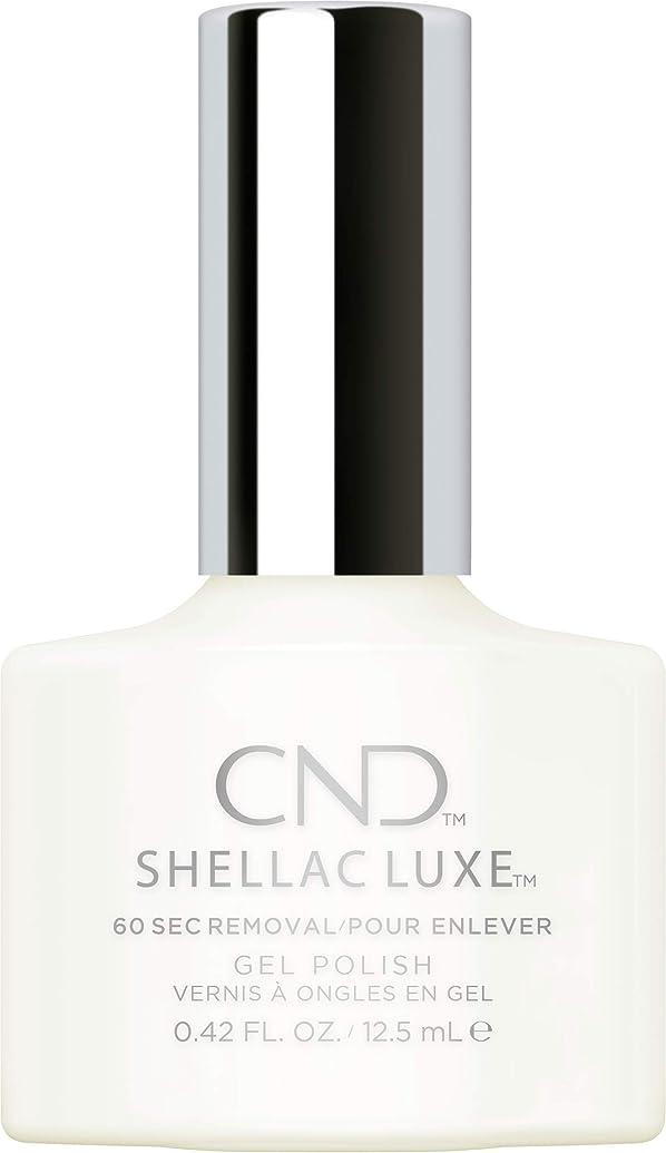 チャーミングスケジュール置き場CND Shellac Luxe - Studio White - 12.5 ml / 0.42 oz