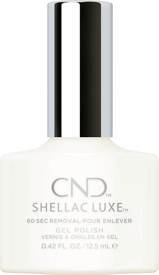 若い疎外する天井CND Shellac Luxe - Studio White - 12.5 ml / 0.42 oz