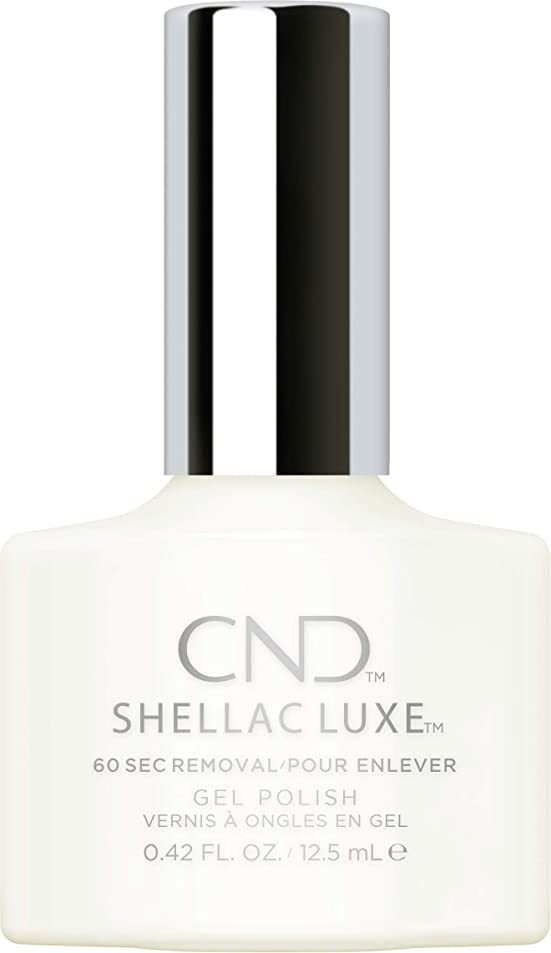 失業者輸送政治CND Shellac Luxe - Studio White - 12.5 ml / 0.42 oz