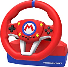 Hori Nintendo Switch Mario Kart Racing Wheel Pro Mini By - Officially Licensed By Nintendo - Nintendo Switch