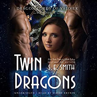 Twin Dragons audiobook cover art