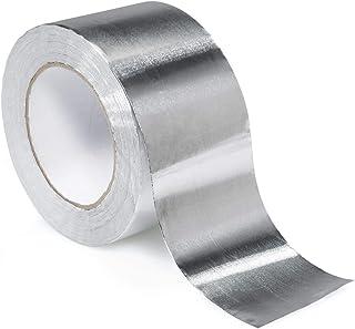 STERR - Cinta de aluminio Cinta de aluminio plateada 72 mm x 45 m