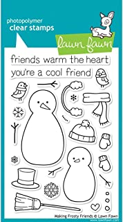 Making Frosty Friends Clear Stamp Set (lawn Fawn)