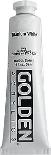 2 Oz Heavy Body Acrylic Color Paints Color: Titanium White