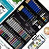 Drawing Watercolor Pencils Art Supplies – 54 Coloring and Sketching Art Set – Each Art Supply Includes Bonus Sketch Book and Digital Library Drawing Tutorials - Pencil Pouch, Graphite Charcoal, Eraser #4