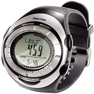 Hama 00106915 - Reloj Deportivo (44 x 245 x 17 mm, 59 g, Negro, CR2032)