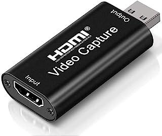 Placas de captura de áudio e vídeo Placa de link de cam 4k HDMI para USB 2.0 Grave em filmadora DSLR Câmera de ação Dispos...