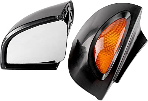 2021 Mallofusa Rear View Side Mirrors Motorcycle Rearview Mirror Compatible for outlet sale BMW high quality R1150RT 2001 2002 2003 2004 2005 Black 1 Pair online