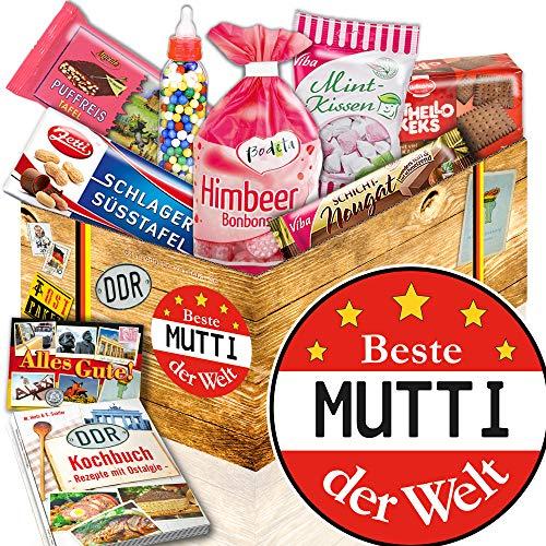 Geschenkset DDR Süßigkeiten / Beste Mutti der Welt / DDR Produkte / DDR Box