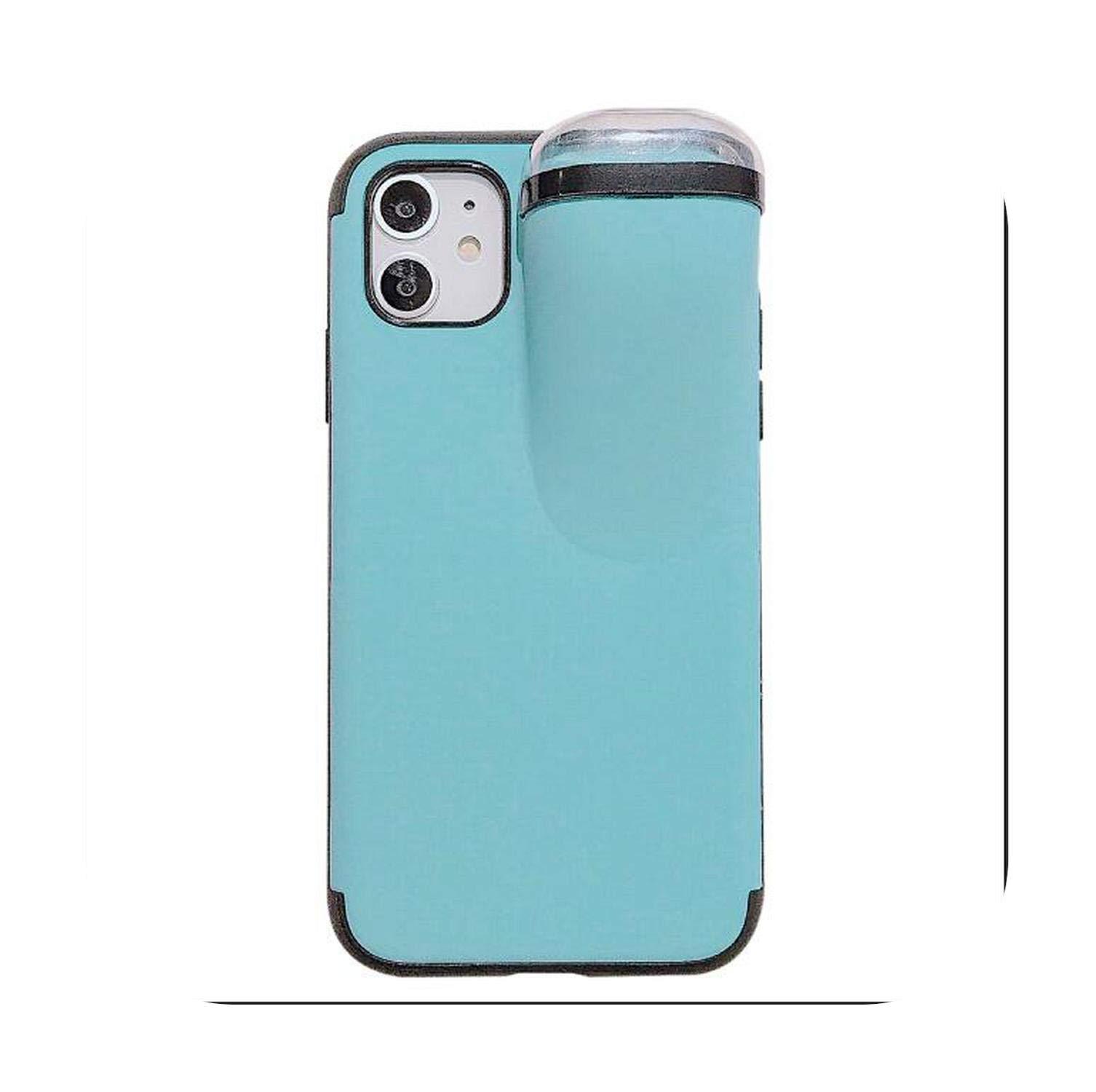 Carcasa para iPhone 2020, 2 en 1, con Airpods, Caja de Almacenamiento para Auriculares para iPhone 11 Pro XS MAX XR X 7 8 Plus, Airpods 1 2 Funda de Silicona Suave: Amazon.es: Electrónica