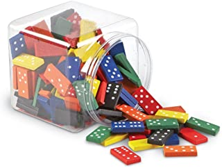 Learning Resources LER0287 Double-Six Dominoes Set (168 Piece)