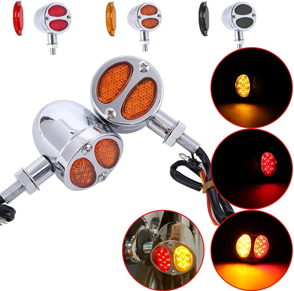 10 off DREAMIZER Motorcycle LED Turn Signals Light with Brake ...