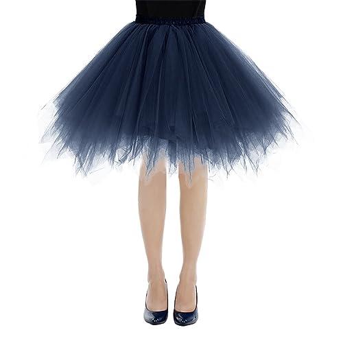 61bf4d49ae bbonlinedress Women's Short Vintage Petticoat Ballet Bubble Skirt 50s Puffy  Tutu