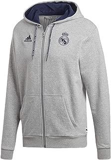 Men's Real Madrid Full Zip Hoodie 2019-20