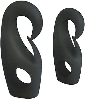 Estante de almacenamiento Espacio de aluminio Ba/ño Bastidor de toalla negro plegable Bjimn El ba/ño se puede perforar Ja Versi/ón mejorada con 2 ganchos para colgar Capa de toalla de una sola capa
