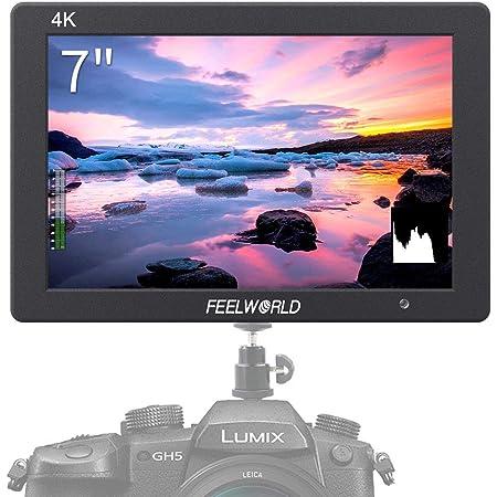 FEELWORLD T7 カメラビデオ モニター ルHD 解像度1920 x 1200 IPS 4K HDMI 信号 出力/入力 耐久性のある金属ケース 超薄型設計 LCD 7インチ フィールドモニター 【一年間保証&日本語設定可能】