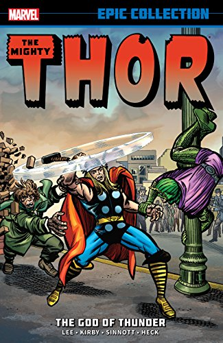 Thor Epic Collection: The God Of Thunder (Journey Into Mystery (1952-1966)) (English Edition)