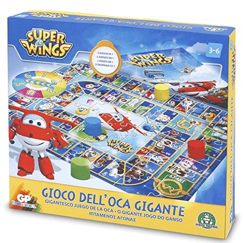 Superwings - Juego de la oca Gigante (Giochi Preziosi UPW22000)