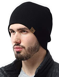 Winter Beanie Knit Hats for Men & Women - Warm & Soft Toboggan Cap