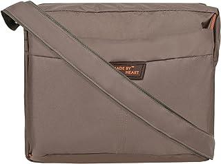 MADE BY HEART Nylon Cross Body Messenger Sling Bag Travel Office Business Messenger one Side Shoulder Bag for Men Women