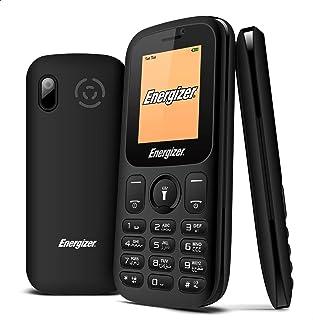 هاتف محمول من انيرجايزر E10 بلس، الجيل الثاني، شاشة 1.8 بوصة، كاميرا في جي ايه، ثنائي الشريحة - اسود