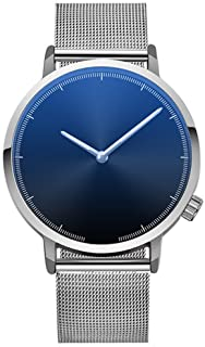 Bokeley Big Watches! Womens Watch, Fashion Classic Gold Geneva Quartz Stainless Steel Wrist Watch (C)