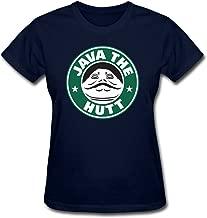Hillet Women's Java The Hutt Cotton Graphic T-Shirt