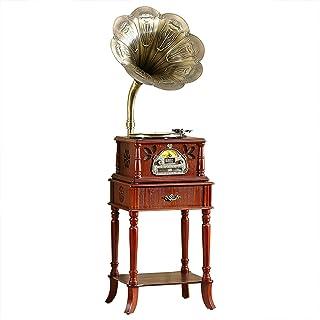 $1226 » DSWHM Exquisite and Elegant Retro Gramophone,Vintage Antique Vinyl Record Player,European-Style Gramophone for Living Roo...